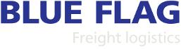 Blue Flag Freight Logistics Logo